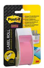 Tarrarulla Post-It 2650-PEU pinkki25,4mmx10,1m SuperSticky