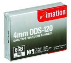Tietokasetti Imation 4mm DDS-2 120M,  Dat 4/8 GB